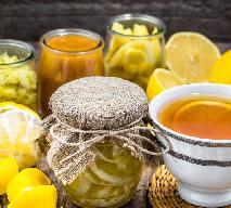 Domowy cytrusowy syrop do herbaty