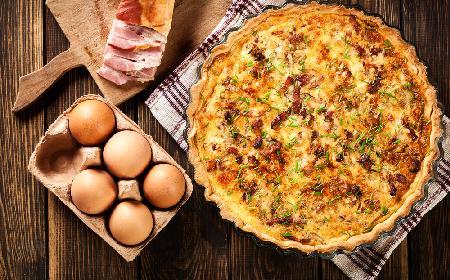 Quiche lorraine wg Magdy Gessler: Kuchenne rewolucje, Corum [Śniadaniarnia] Karpacz