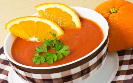 Zupa pomarańczowa – wytworne danie wegetariańskie