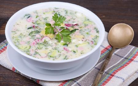 Chłodnik z kalafiora - pyszna zupa kalafiorowa na zimno