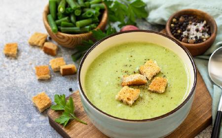 Zupa krem z fasolki szparagowej-sprawdzony-przepis