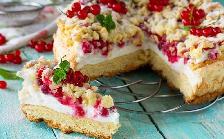 Pleśniak - kruche ciasto z powidłami lub dżemem [WIDEO]