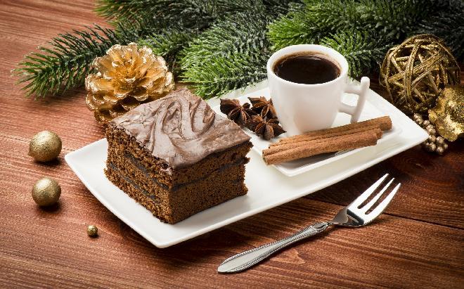 Świąteczny piernik kawowy: przepis na Boże Narodzenie