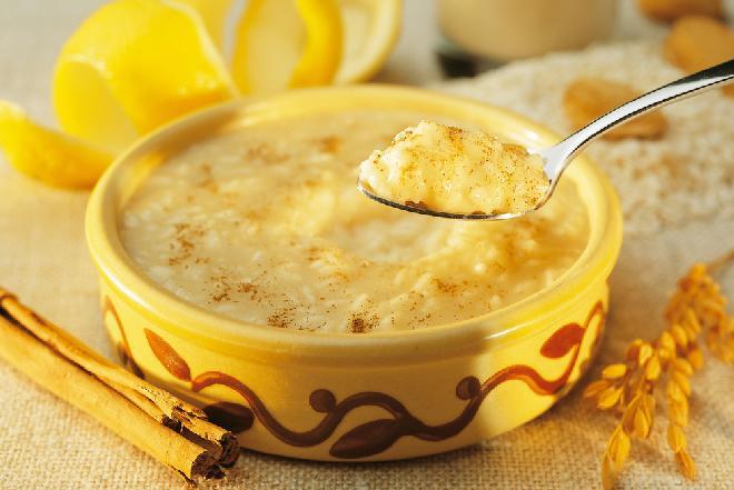 Portugalski ryż Carolino na słodko - Arroz Doce
